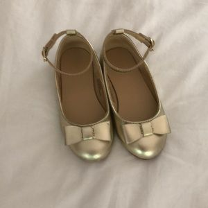 Janie and Jack gold shoes